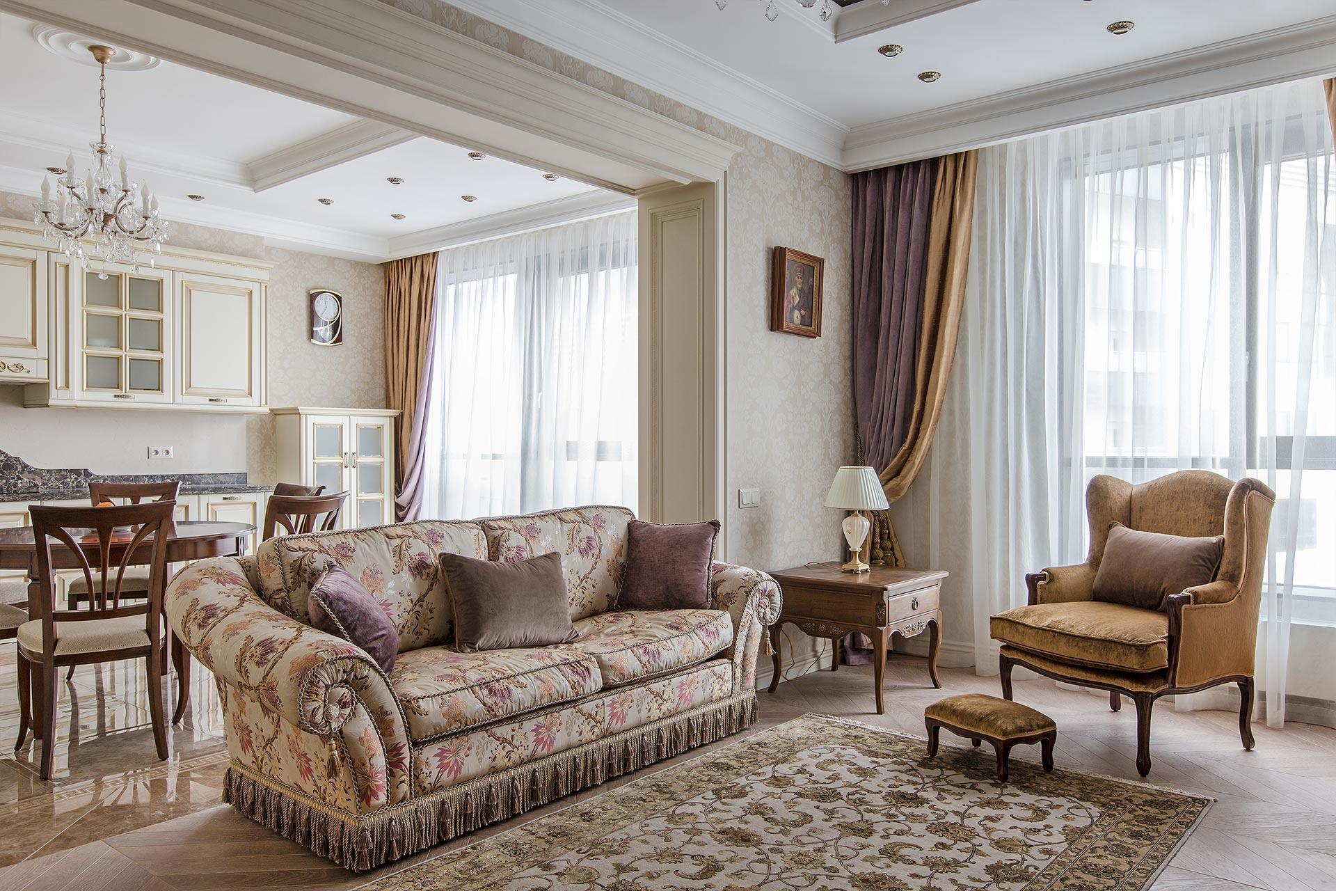 Ремонт квартир в классическом стиле